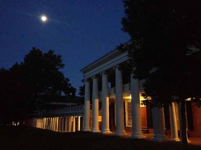 Pavilion on the UVA Lawn - link to Flickr image gallery