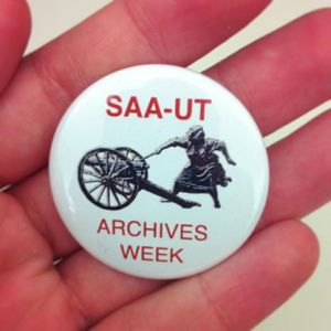 Archives Week Pin