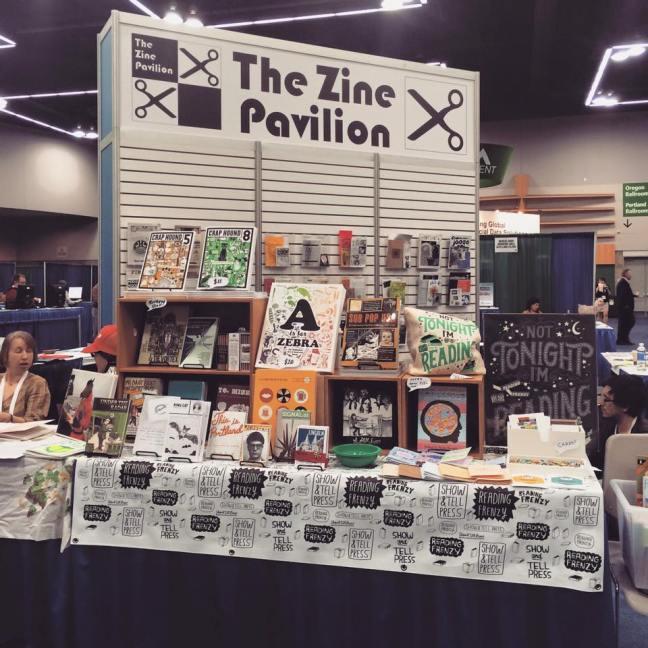 ACRL 2015 Zine Pavilion